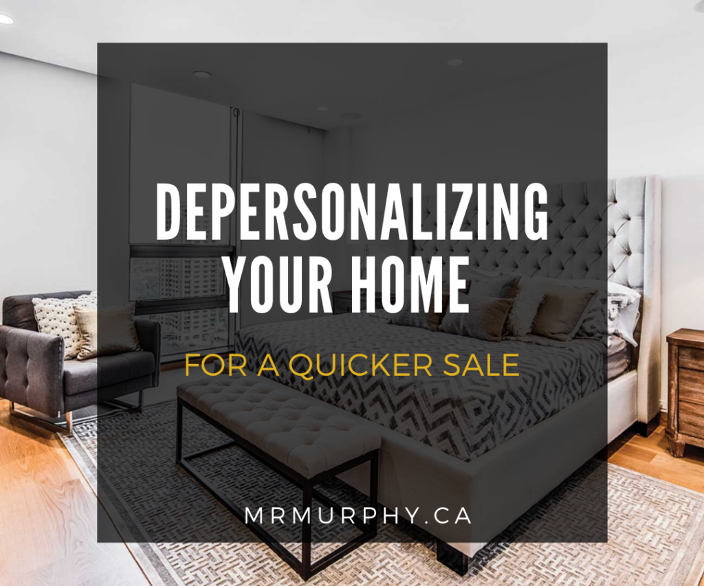 Depersonalizing Your Home for a Quicker Sale