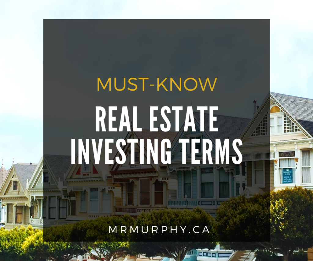 Must-Know Real Estate Investing Terms