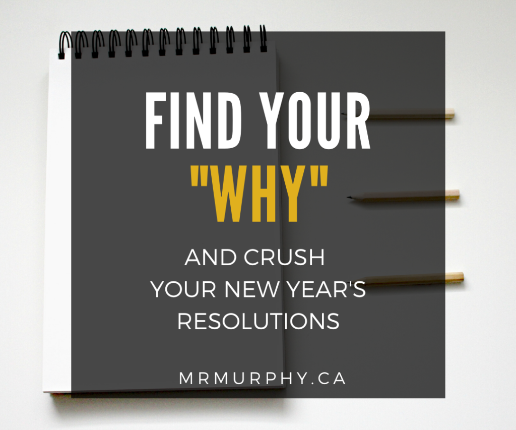 Find Your Why and Crush Your New Yea'rs Resolutions